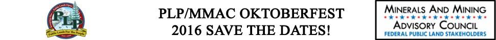 2016 PLP/MMAC OKTOBERFEST - Click For More Info
